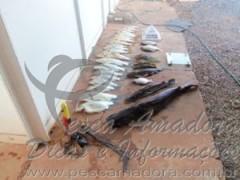 Tres homens sao presos por pescar com arpao caseiro em Buritis-MG 2