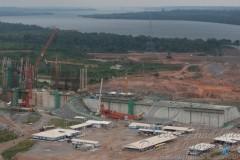 Usina Hidreletrica de Belo Monte em construcao no AM