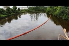 Vazamento de petroleo da Transpetro atinge rio Cubatao na Baixada Santista