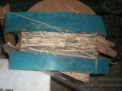 anzol de galho apreendido em Tapira-PR