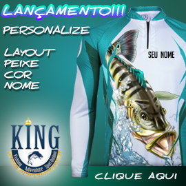 Personalize sua camisa de pesca