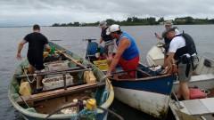 comando ambiental combate pesca predatoria no rio tramandai no RS