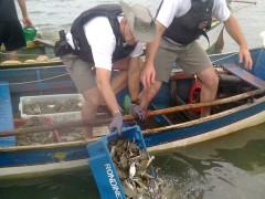 comando ambiental combate pesca predatoria no rio tramandai no RS 3