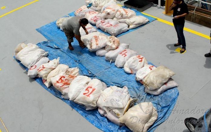 pescado ilegal apreendido pelo DEMA no Amazonas