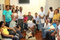 Membros de colônia de pescadores de Iguatama participam de debate na Assembleia Legislativa