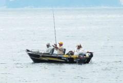 pescadores esportivoa em Santos