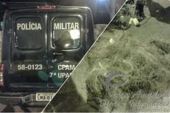 pma apreende 500m de rede no RJ