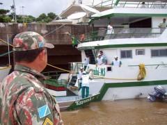 pma se prepara para fiscalizacao no rio paraguai