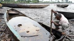 vazamento de oleo no Niger em 2008